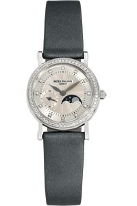 Calatrava Moonphase Reference 4858 White Gold Manual