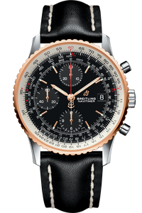 Navitimer 1 Chronograph 41 Steel & Red Gold