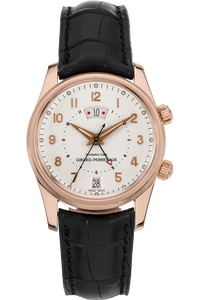Traveller II GMT/Alarm Rose Gold Automatic