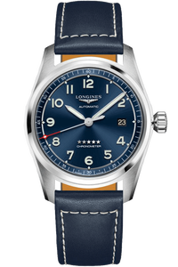 Longines Spirit 40mm Blue Dial Stainless Steel