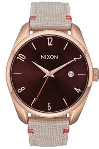 Bullet Leather, Rose Gold / Brown