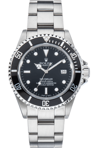 Sea-Dweller Swiss Made Dial No Lug Holes Stainless Steel Automatic