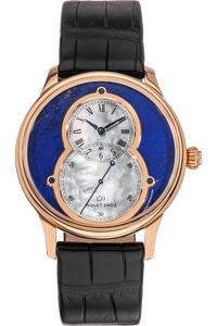 Grande Seconde Circled Rose Gold Automatic