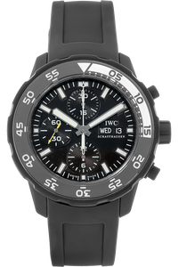 Aquatimer Chronograph Rubber Coated Stainless Steel Automatic