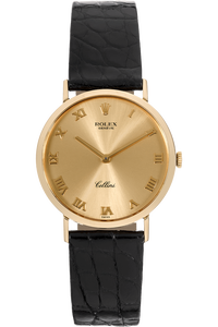 Cellini Yellow Gold Manual