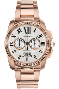 Calibre de Cartier Chronograph Rose Gold Automatic