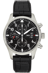 Pilot's Chronograph Stainless Steel Automatic