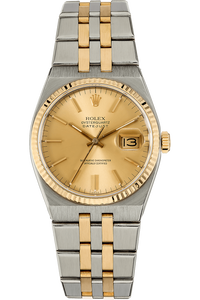 Datejust Circa 1984 Yellow Gold and Stainless Steel Quartz