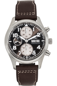 Pilot's Chronograph Saint Exupery Stainless Steel Automatic