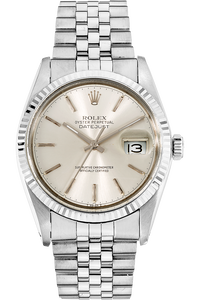 Datejust Circa 1978 White Gold and Stainless Steel Automatic