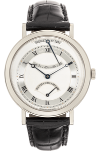 Classique Retrograde Seconds White Gold Automatic