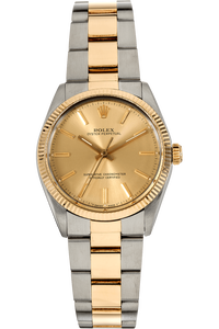 Oyster Perpetual Circa 1988 Yellow Gold and Stainless Steel Automatic