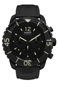 44mm Chrono Black IP