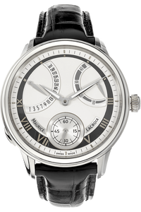 Masterpiece Calendrier Retrograde Stainless Steel Manual