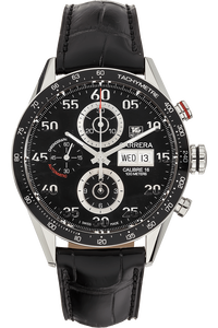 Carerra Calibre 16 Day-Date Chronograph Stainless Steel Automatic