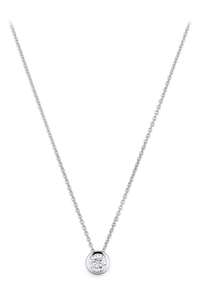 Darling Collitaire in 18K White Gold