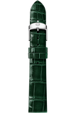 16MM Green Thin Alligator Strap