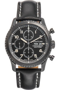 Navitimer 8 Chronograph 43 DLC Stainless Steel Automatic