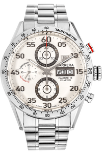 Carrera Calibre 16 Day-Date Chronograph Stainless Steel Automatic