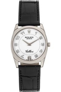 Cellini Danaos White Gold Manual