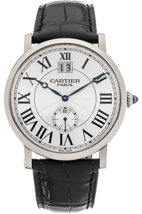 Rotonde de Cartier White Gold Manual