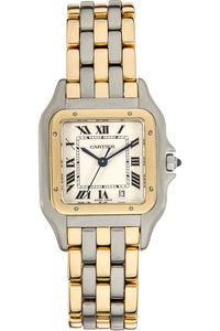 Panthere Yellow Gold and Stainless Steel Automatic