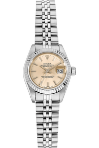 Datejust Circa 1982 White Gold and Stainless Steel Automatic