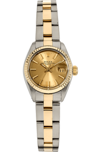 Datejust Circa 1977 Yellow Gold and Stainless Steel Automatic