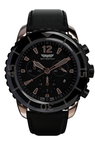 44mm Chrono Rose Gold