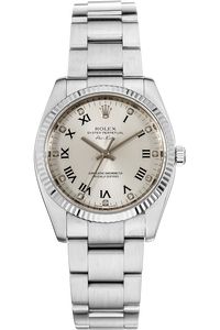 Air-King White Gold and Stainless Steel Automatic
