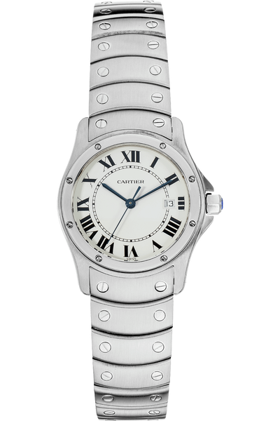 Santos Ronde  Stainless Steel Quartz