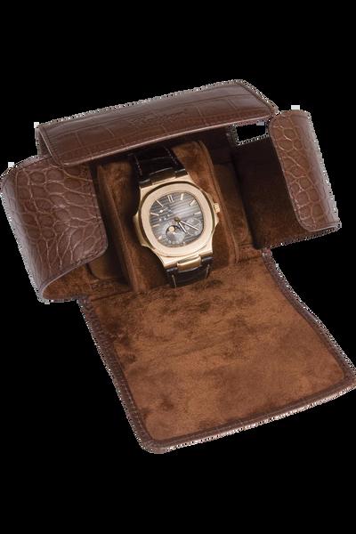 Brown Berkeley Single Watch Roll