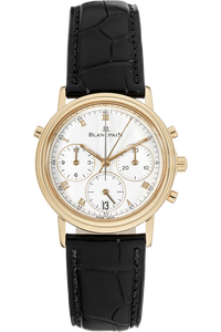 Villeret Split Second Chronograph Yellow Gold Automatic