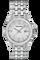 Ladies Steel Roman Silver Dial Bracelet