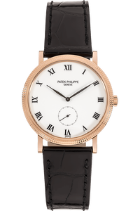 Calatrava Reference 3919 Rose Gold Manual