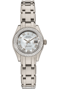 Datejust Pearlmaster White Gold Automatic