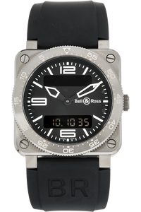 BR 03-88 Aviation Stainless Steel Quartz