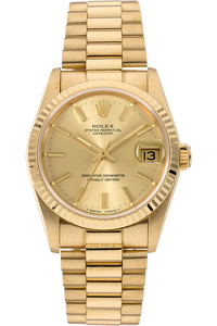 Datejust Circa 1989 Yellow Gold Automatic