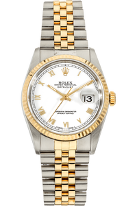 Datejust Circa 1990 Yellow Gold and Stainless Steel Automatic