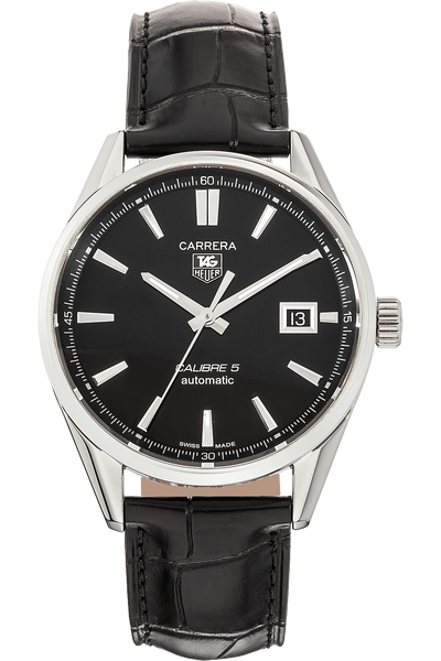 Carrera Calibre 5 Stainless Steel Automatic