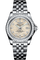 Galactic 32 Sleek Edition Steel & Gem Set Bezel, MOP Diamond Dial