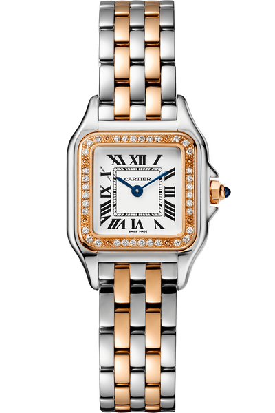 Panthère de Cartier, Rose Gold & Steel, Small