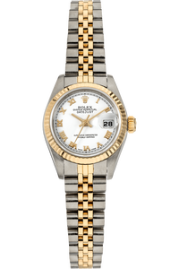 Datejust Circa 1986 Yellow Gold and Stainless Steel Automatic