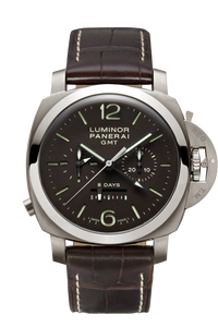 Luminor 1950 Chrono Monopulsante 8 Days GMT Titanio - 44mm