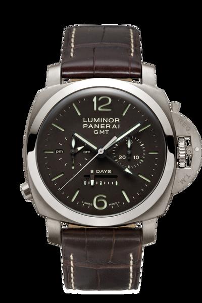 Luminor 1950 Chrono Monopulsante 8 Days GMT Titanio - 44mm