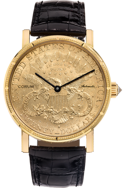 90f6f76e99020 Pre-Owned Corum  20 Coin Watch Automatic (293.643.56 0001)
