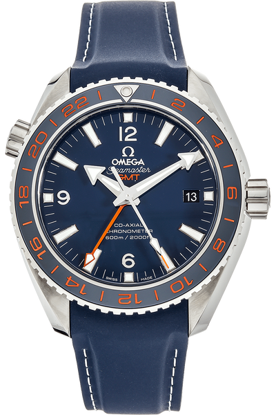 Seamaster Planet Ocean GMT GoodPlanet Stainless Steel Automatic