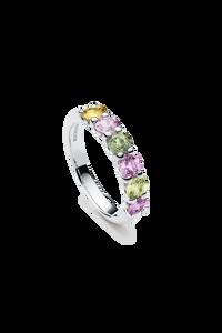 Pastello Ring in 18K White Gold