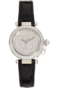Pasha 32 White Gold Automatic