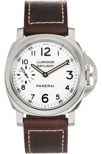 Luminor Set: Daylight & Black Seal PVD Stainless Steel Automatic